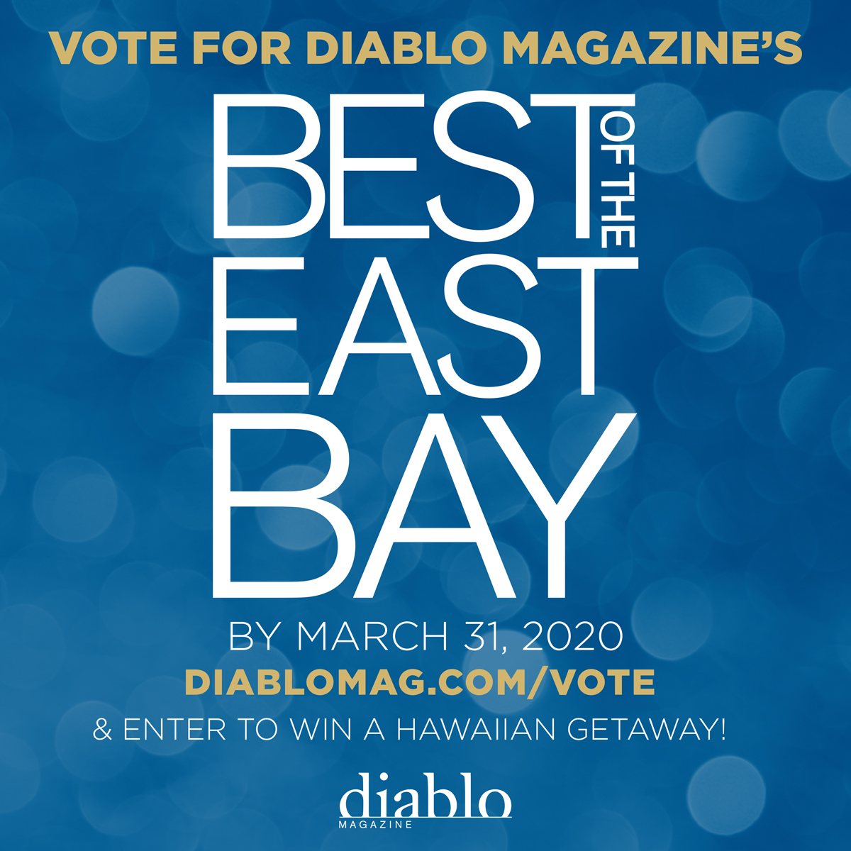 Diablo magazine's Best of the East Bay 2020