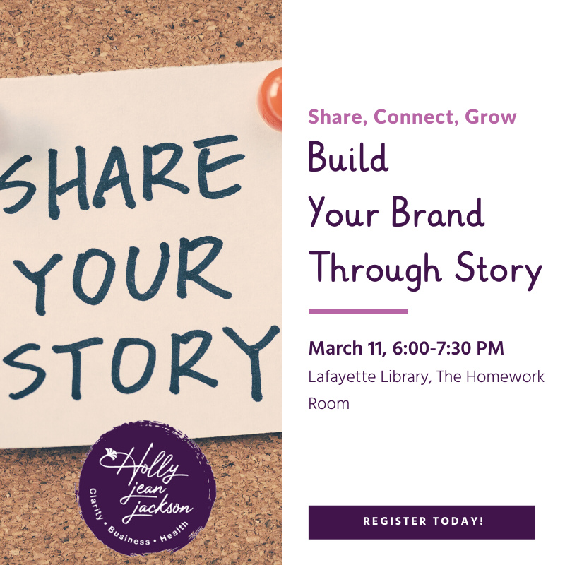 Build Your Brand Through Story