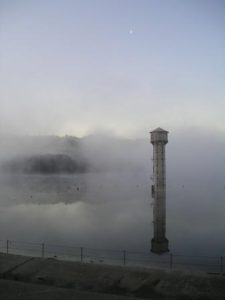 Foggy Reservoir
