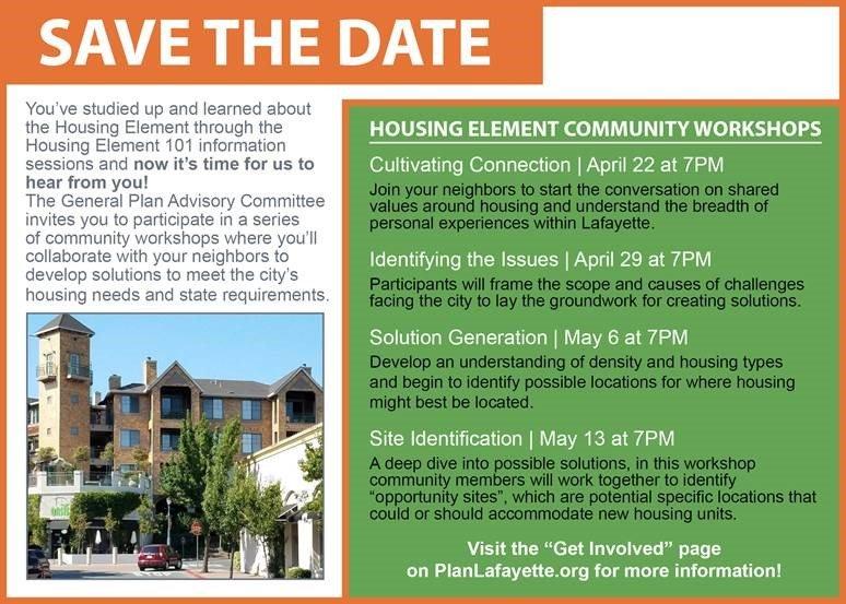 Lafayette, CA Housing Element