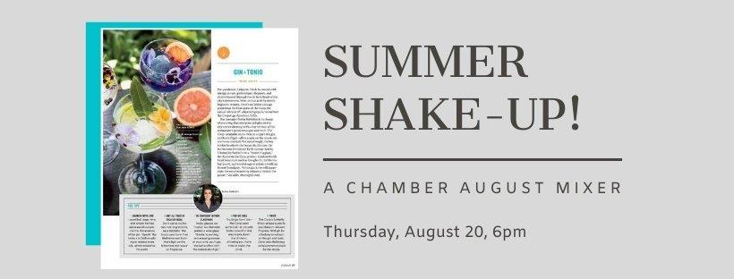 Summer Shake-Up - A Chamber August Mixer