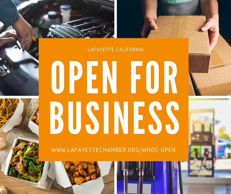 List of Chamber Member Businesses and are OPEN!