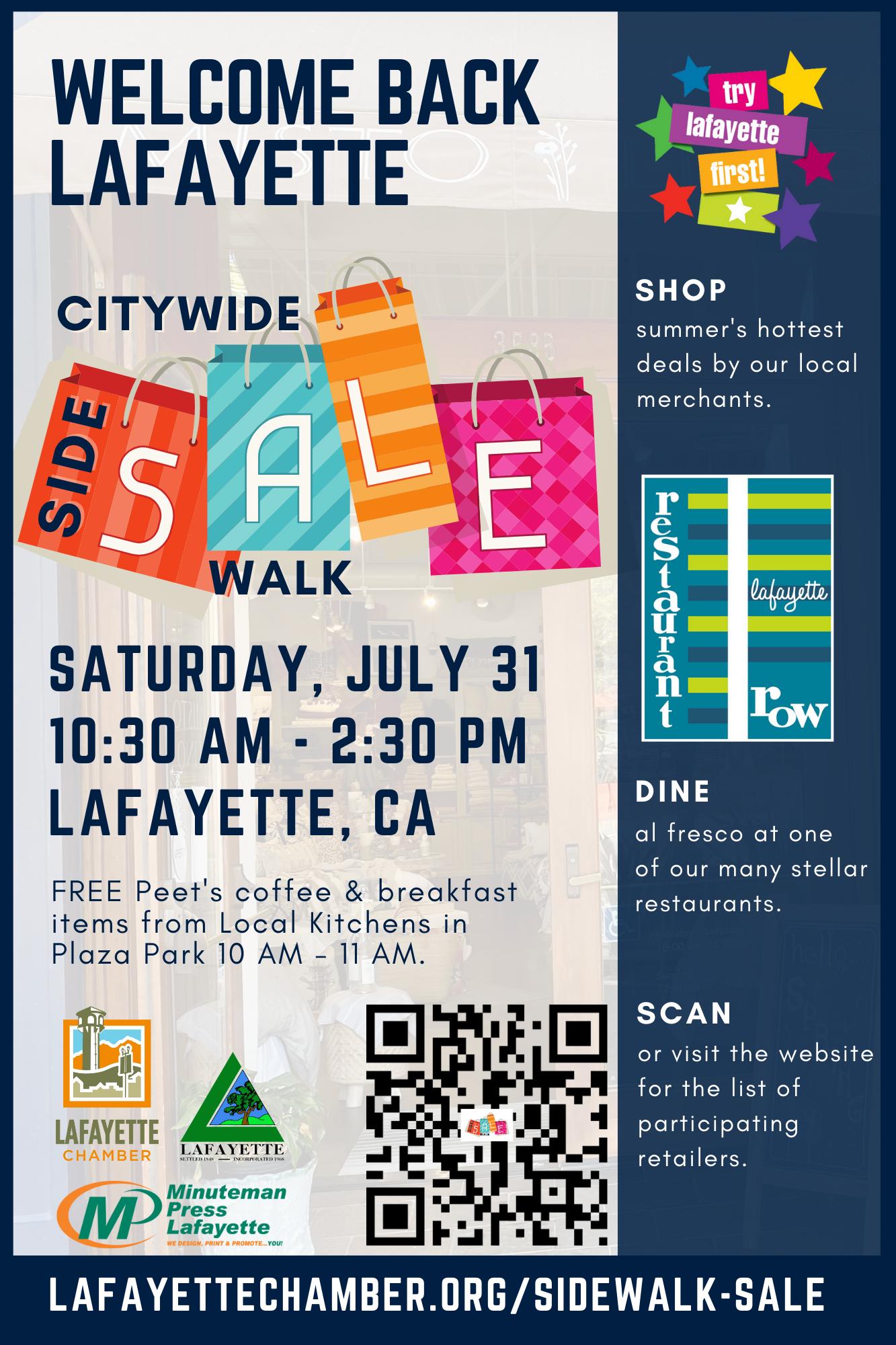 Citywide Sidewalk Sale