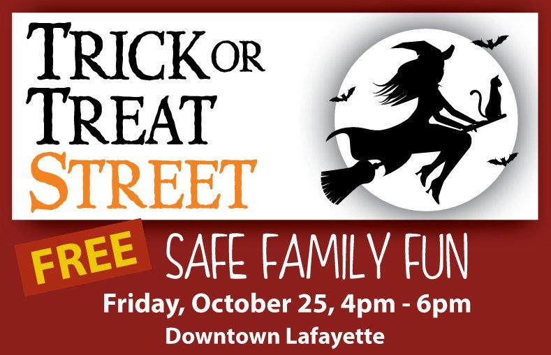 Trick or Treat Street Lafayette