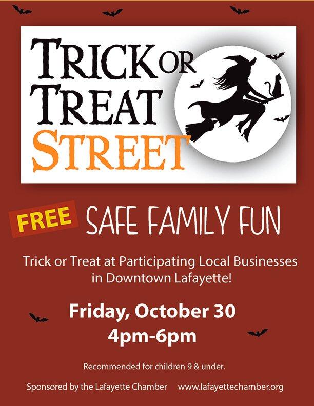 Trick or Treat Street Downtown Lafayette, CA